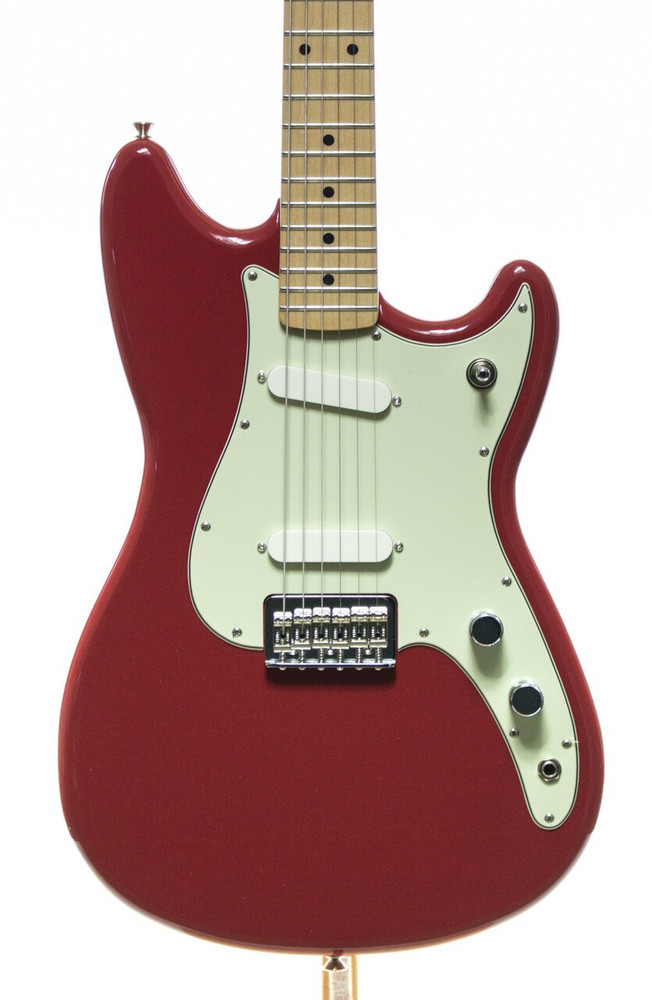 Fender Fender Duo-Sonic Electric Guitar Torino Red Maple Fingerboard