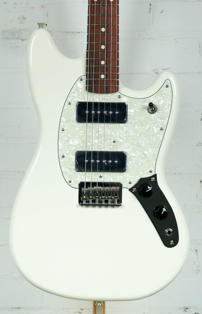 Fender Fender Offset Series Mustang 90 Olympic White Electric Guitar