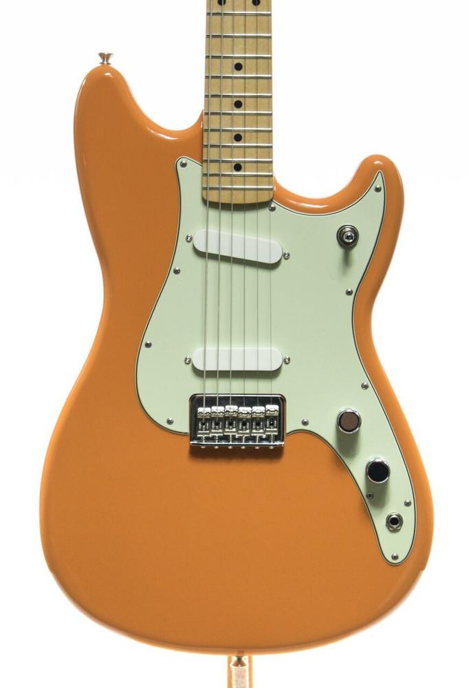 Fender Fender Offset Series Duo-Sonic Electric Guitar - Capri Orange