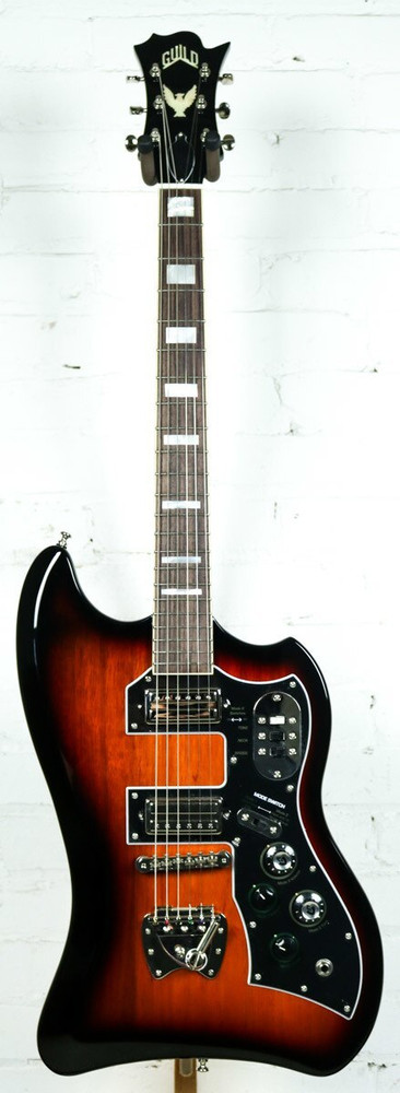 Guild Guild S-200 Tbird Solid Body Electric Guitar Antique Burst