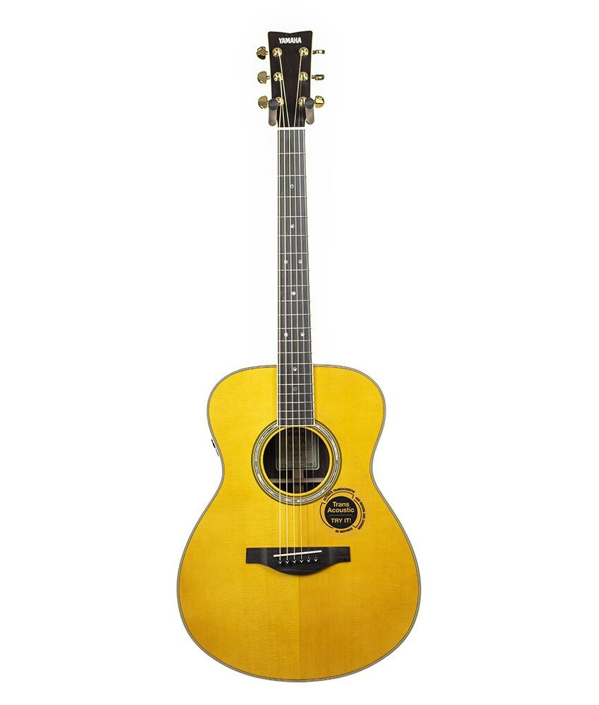 Yamaha Guitars Yamaha LS-TA TransAcoustic Guitar Vintage Tint