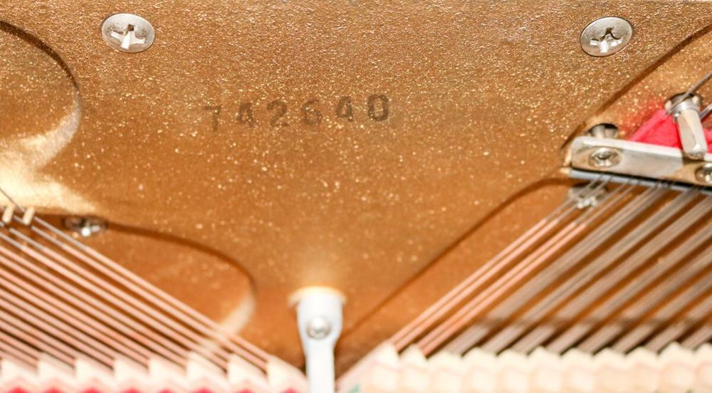 Kimball Kimball Walnut Console Piano w/ Bench
