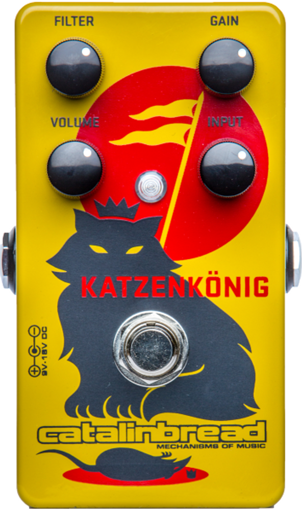 Catalinbread Catalinbread Katzenkonig Fuzz Distortion Guitar Effects Pedal