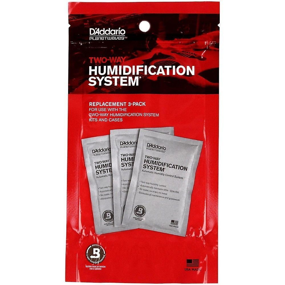 Planet Waves Planet Waves Humidipak System Replacement 3 Pack