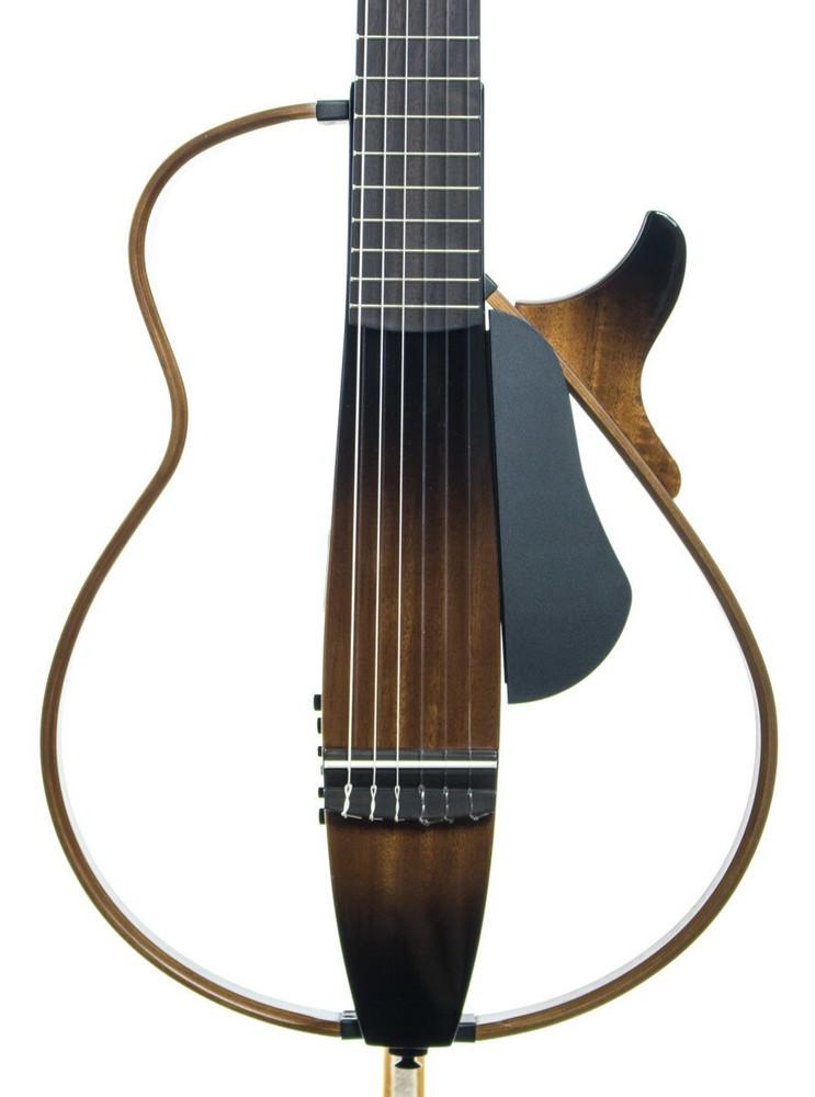 Yamaha Guitars Yamaha SLG200N Silent Nylon String Guitar Tobacco Sunburst