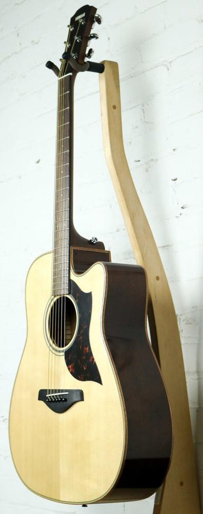 Yamaha Guitars Yamaha A-Series A1MHC Dreadnought Acoustic-Electric Guitar Natural