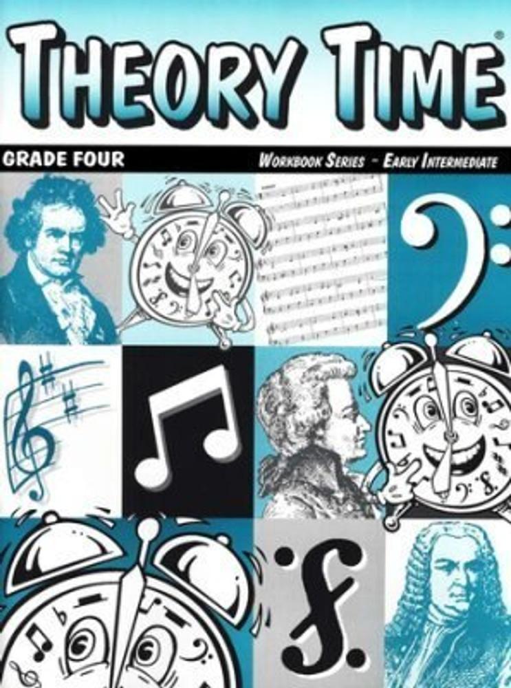Theory Time Thoery Time Grade Four Early Intermediate Workbook