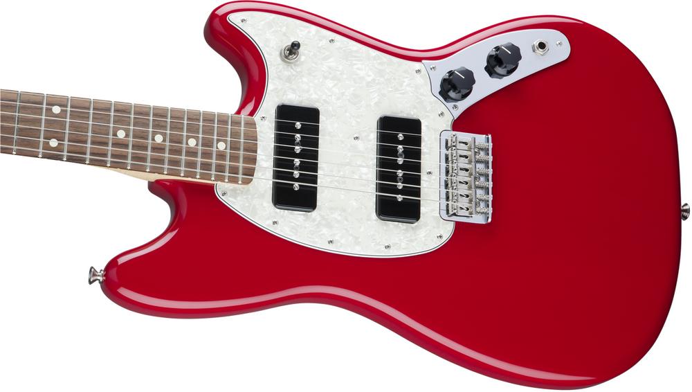 Fender Pre-Owned Fender Offset Series Mustang 90, Pau Ferro Fingerboard - Torino Red