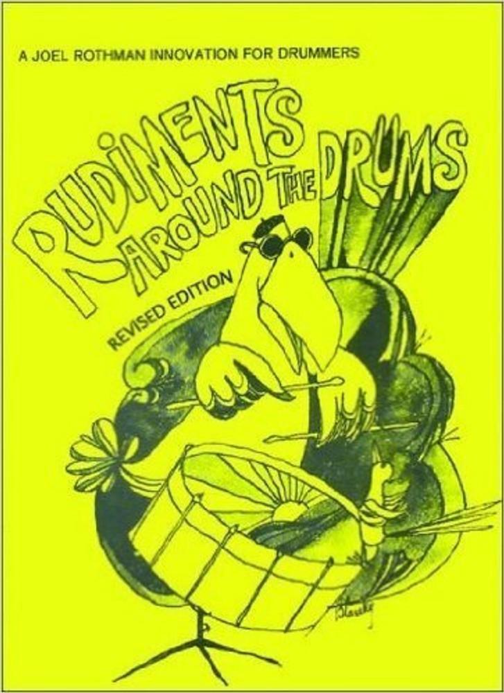 JR Drum Publications JRP38 - Rudiments Around The Drums
