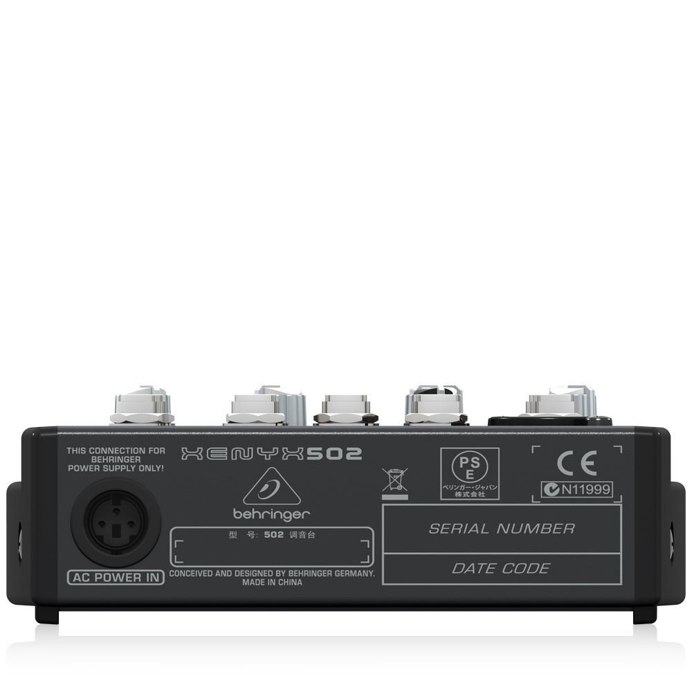 Behringer Behringer XENYX502 5-Channel Mixer