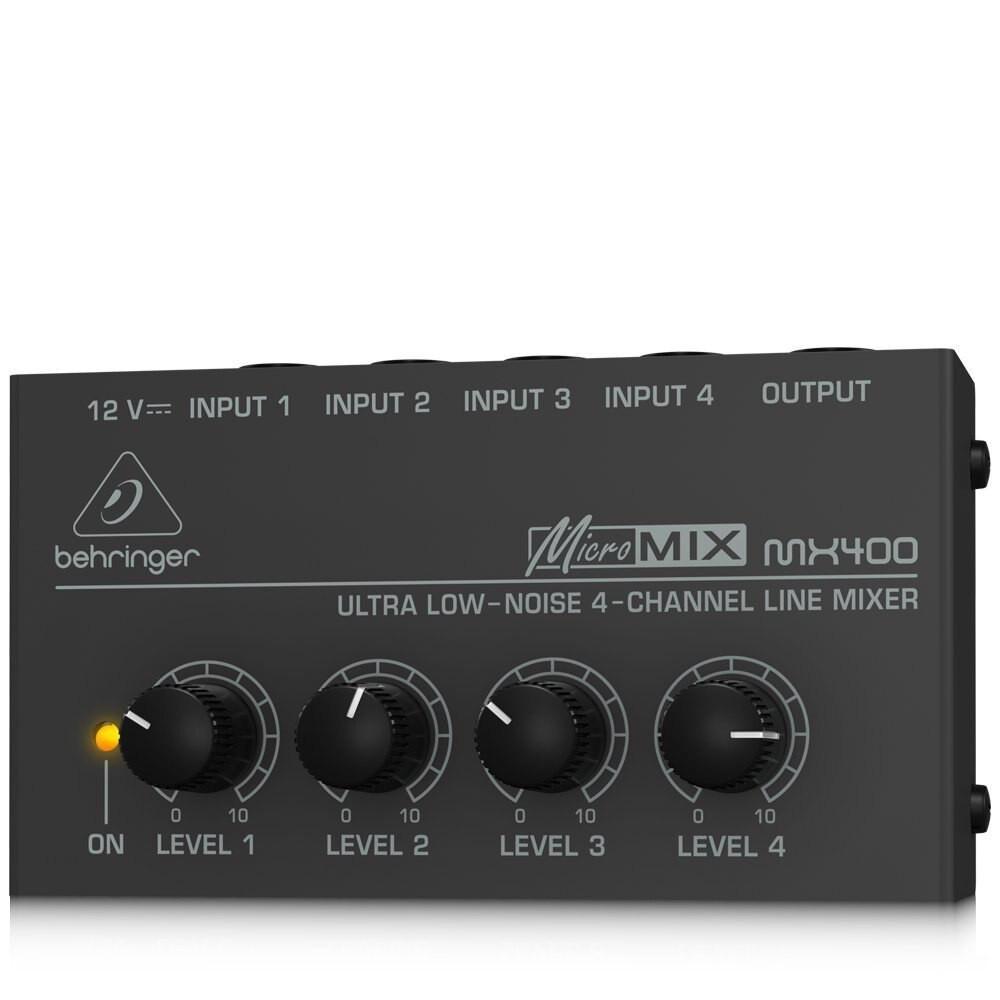Behringer Behringer Micromix MX400 4-channel Mono Mixer