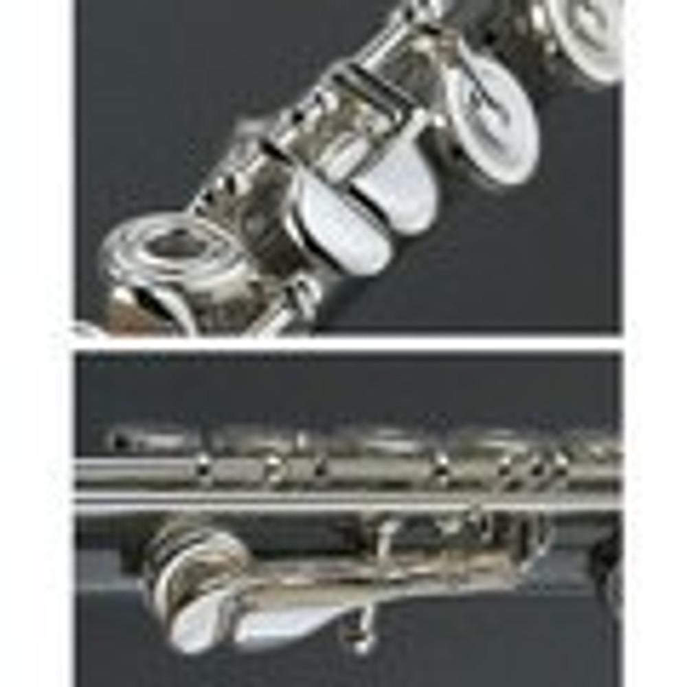 Yamaha Yamaha Professional 577H Series Flute Offset G C# trill key, split E, gizmo key, gold-plated lip-plate