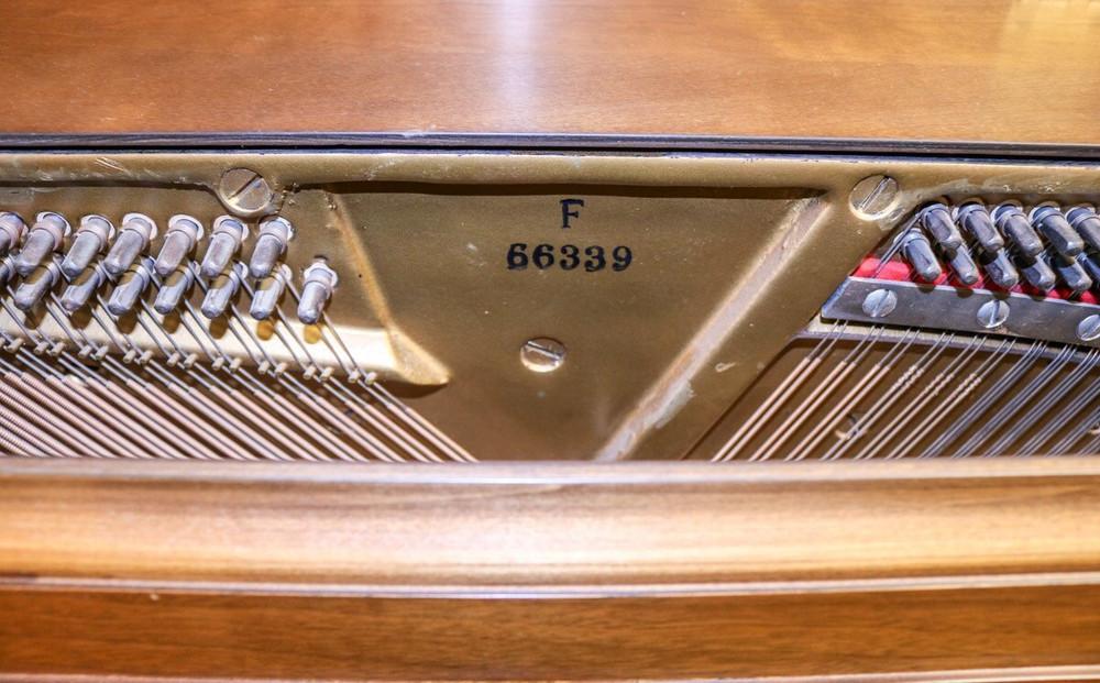 Mason and Hamlin Mason and Hamlin Console Piano Light Oak w/ Bench