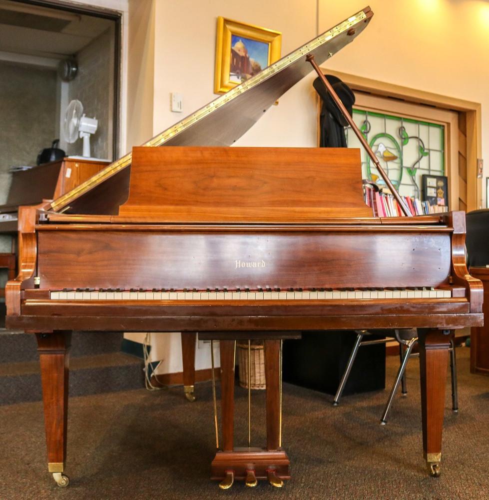 Howard Howard Grand Piano w/ Bench