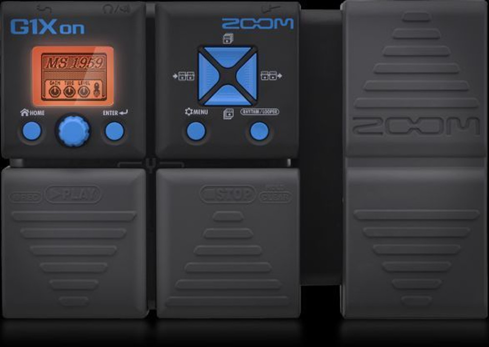 Zoom Zoom G1XON Guitar Effects with Expression Pedal