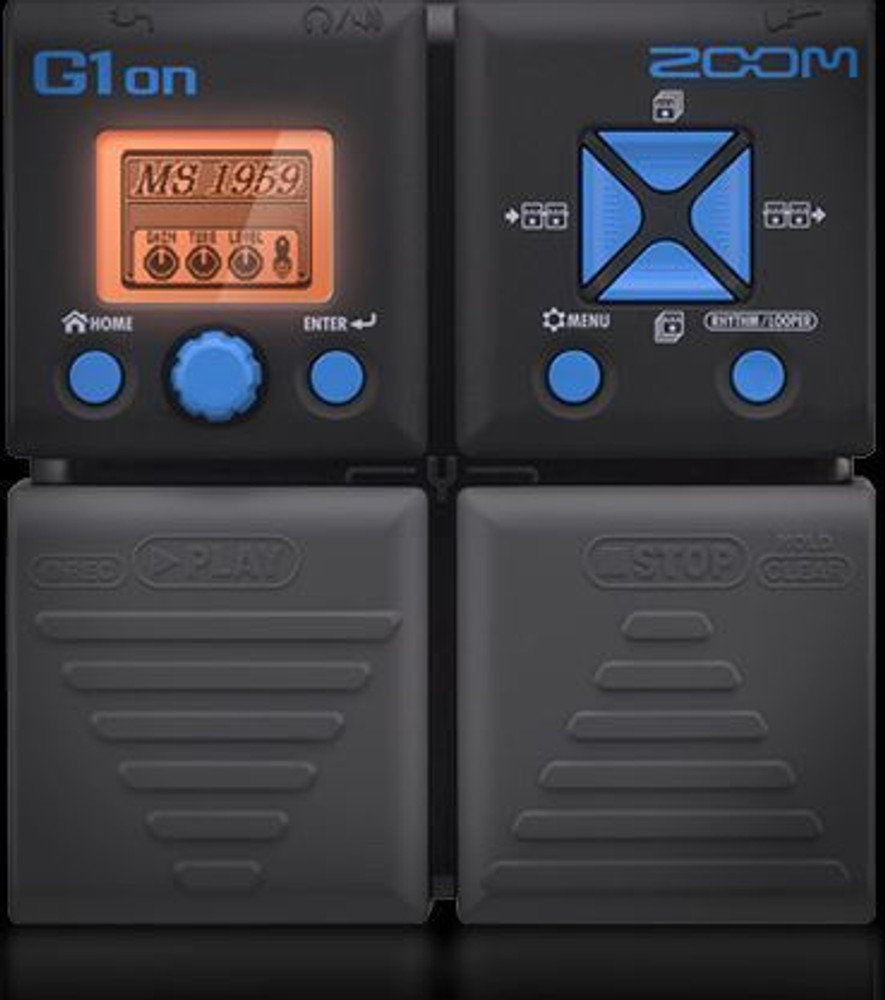 Zoom Zoom ZG1ON Multi-effects Pedal w/100 Effects