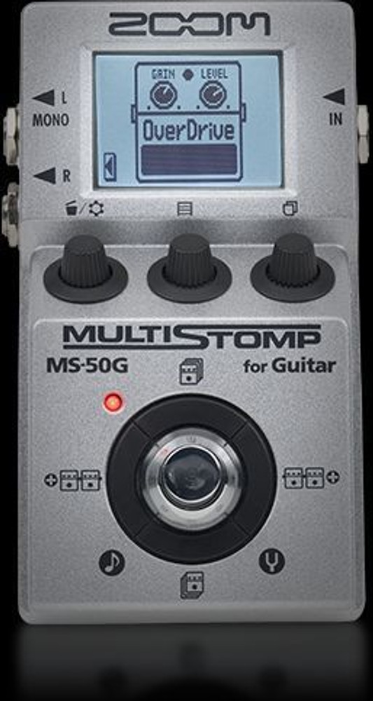 Zoom Zoom MS-50G MultiStomp Guitar Pedal