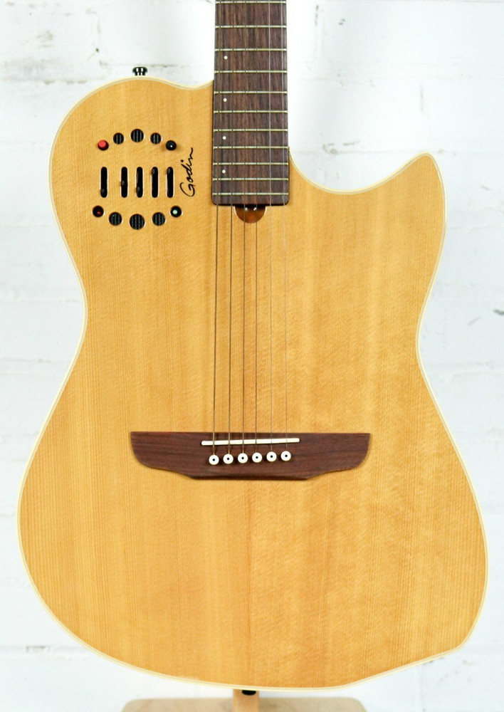 Godin Used Godin Multiac Steel Duet Ambiance Acoustic-Electric Guitar Natural w/ Case