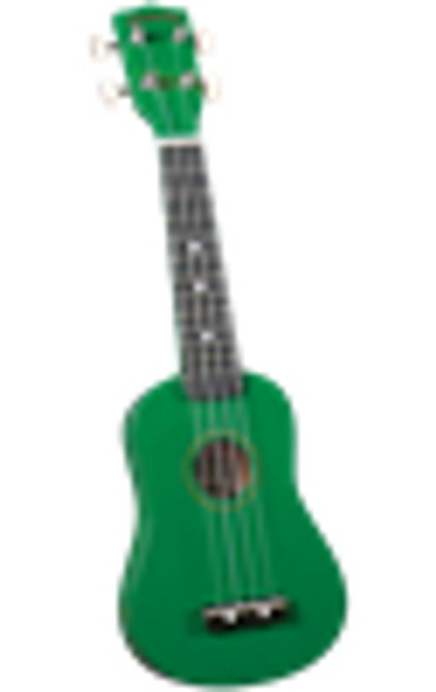 Diamond Head Diamond Head DU-105 Green Soprano Ukulele