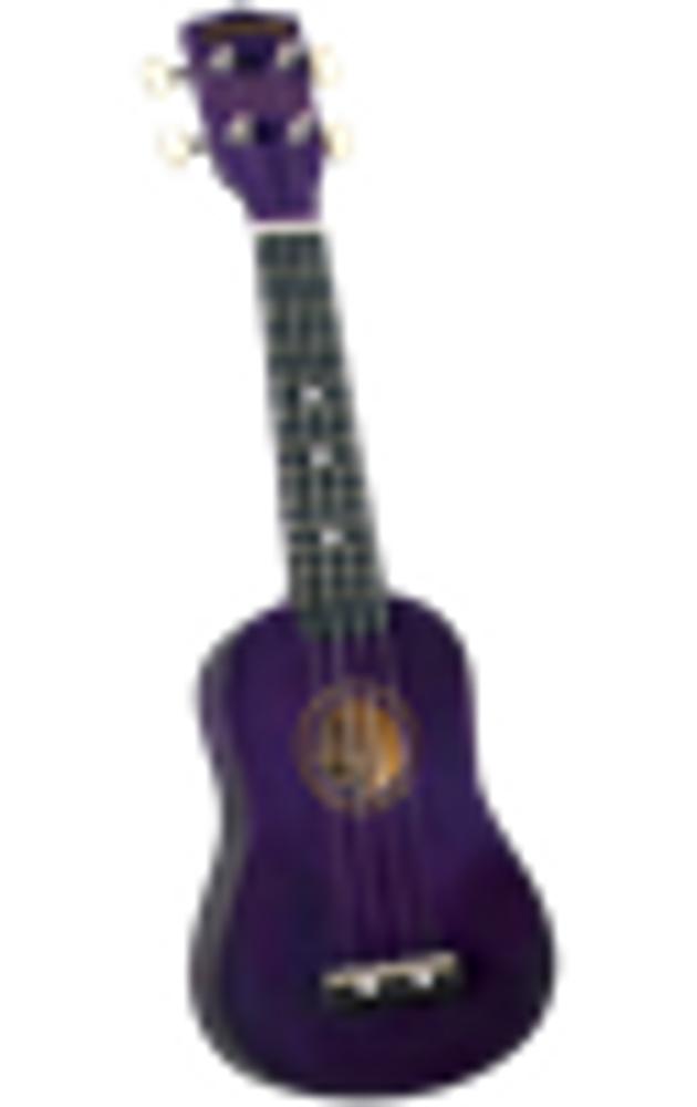 Diamond Head Diamond Head DU-108 Purple Soprano Ukulele