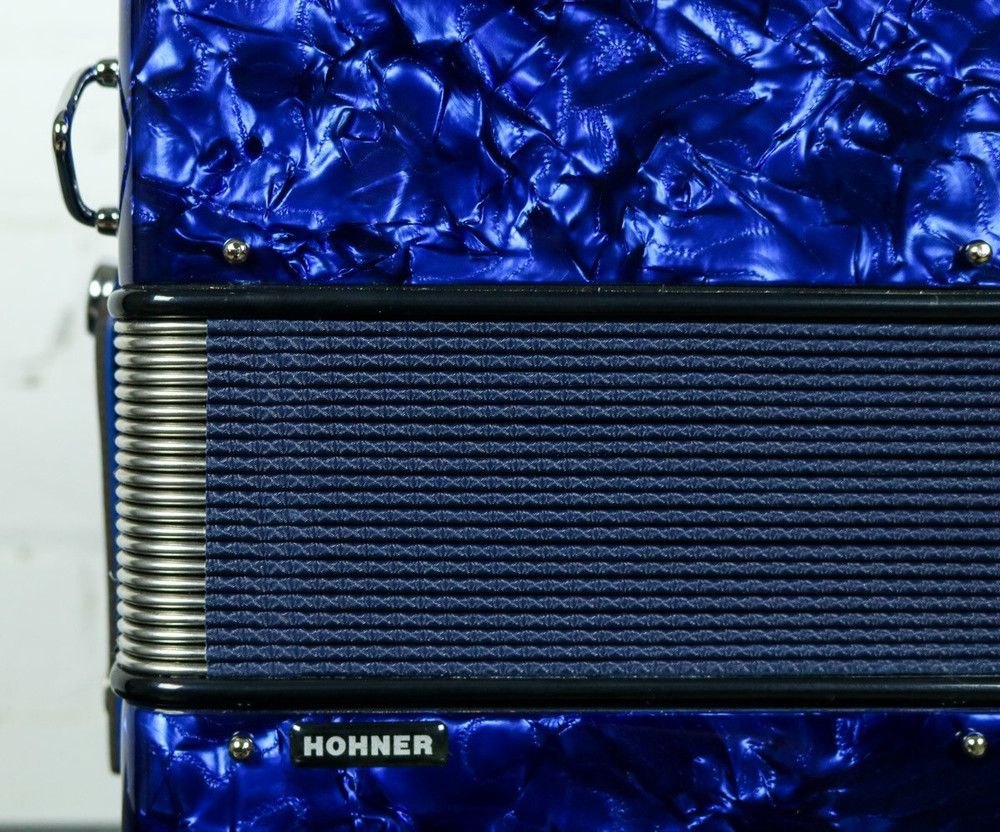 Hohner Hohner Anacleto Rey Del Norte TT EAD/GCF Accordion Compact Blue