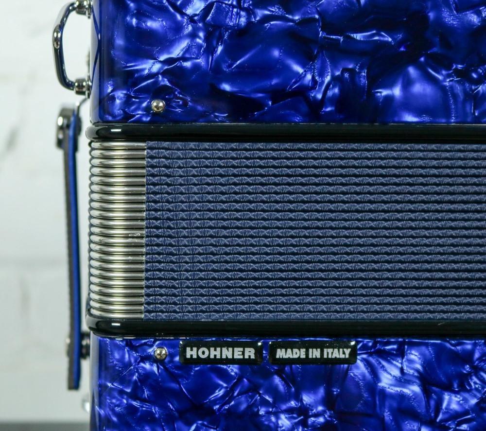 Hohner Hohner Anacleto Rey Del Norte TT G/E Accordion Compact Blue