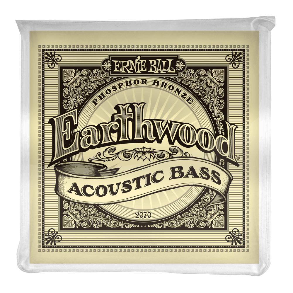 Ernie Ball Ernie Ball Earthwood Phosphor Bronze Acoustic Bass Strings - 45-95 Gauge