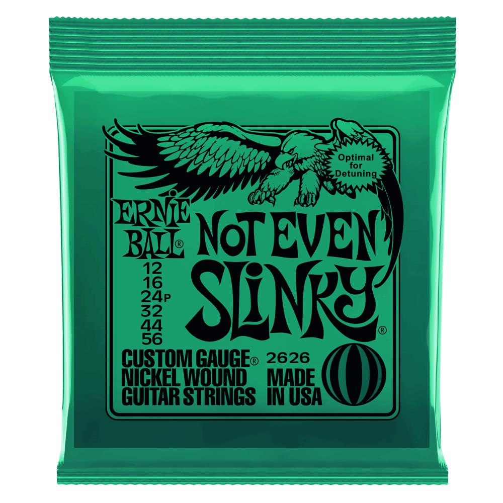 Ernie Ball Ernie Ball Not Even Slinky Nickel Wound Electric Guitar Strings - 12-56 Gauge