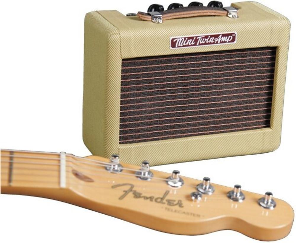 Fender Fender 023-4811-000 Mini 1957 Twin-Amp Tweed 1 Watt Digital Effects Guitar Amp