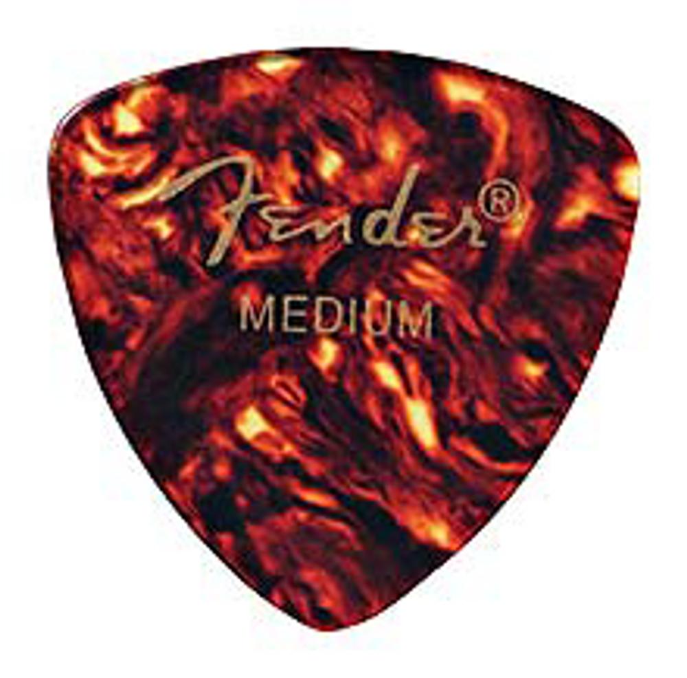 Fender Fender 346 Shape Classic Celluloid Guitar Picks Medium 12 Pack Shell