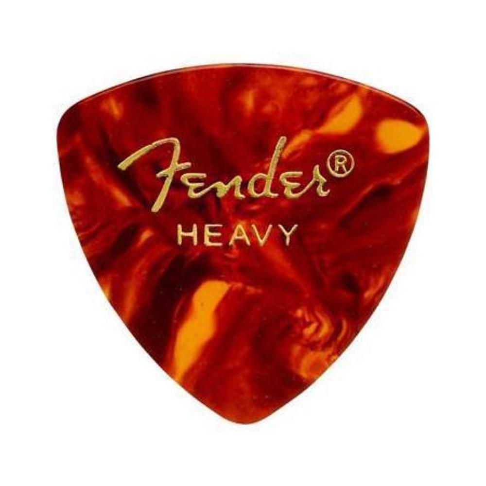 Fender Fender 346 Shape Classic Celluloid Guitar Picks Heavy 12 Pack Shell