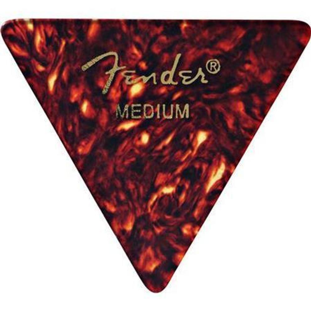 Fender Fender 355 Shape Classic Celluloid Guitar Picks Medium 12 Pack Shell