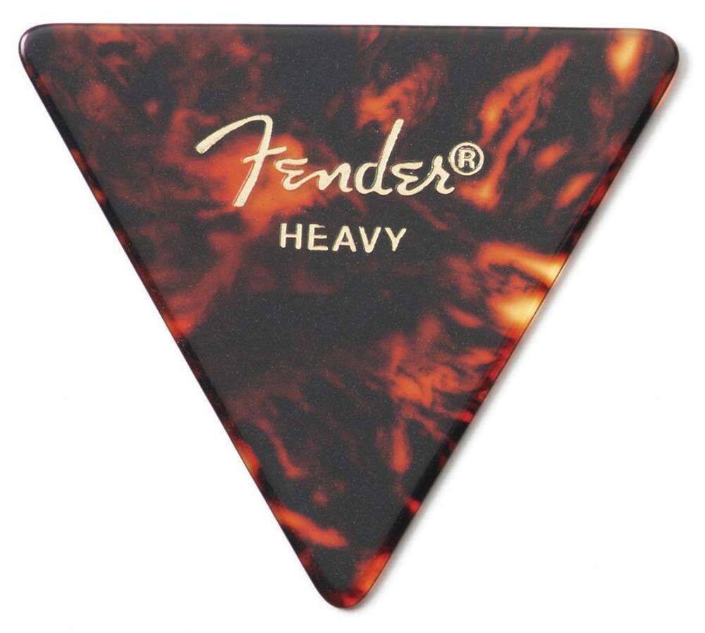 Fender Fender 355 Shape Classic Celluloid Guitar Picks Heavy 12 Pack Shell