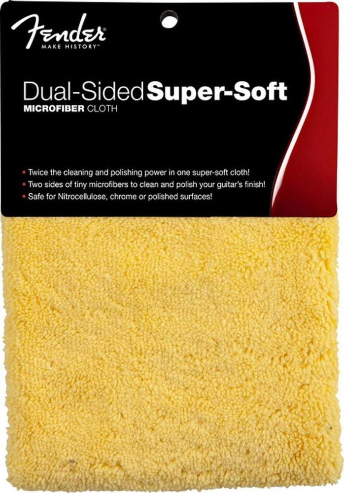 Fender Fender Super-Soft Yellow Microfiber Cloth