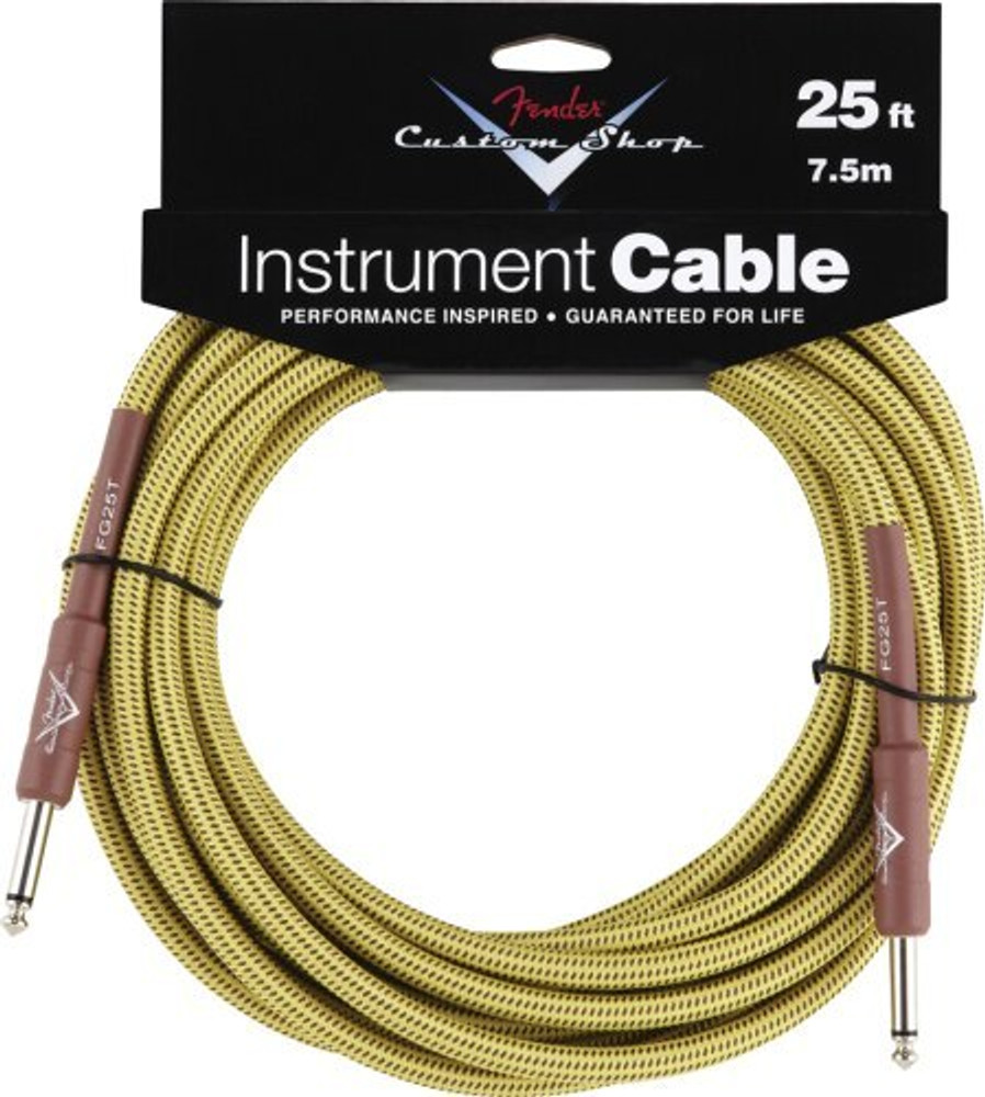 Fender Fender 25 Tweed Instrument Cable