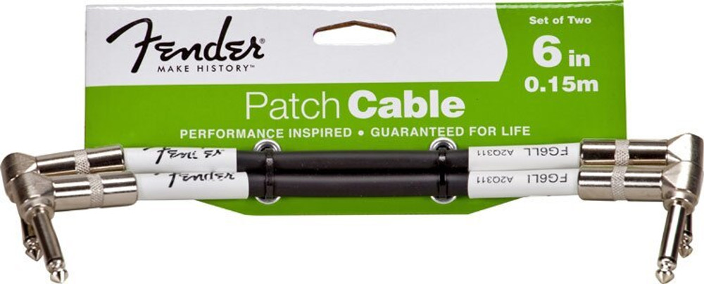 Fender 6 Patch Cable 2 Pack