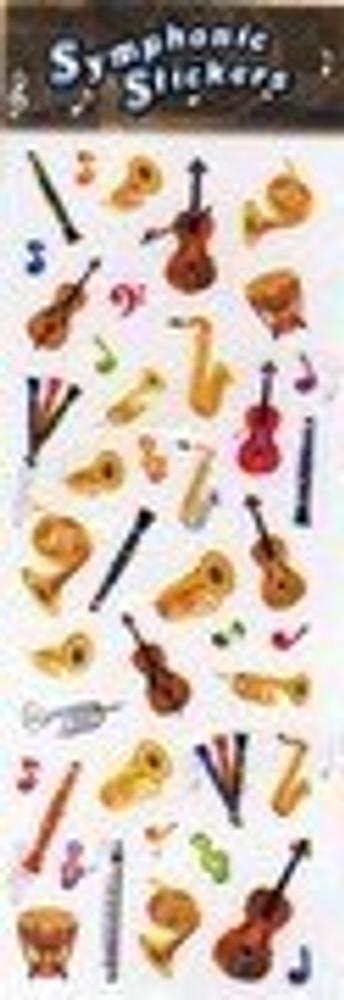 Music Treasures Symphony Assortment Stickers