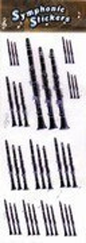 Music Treasures Clarinet Stickers