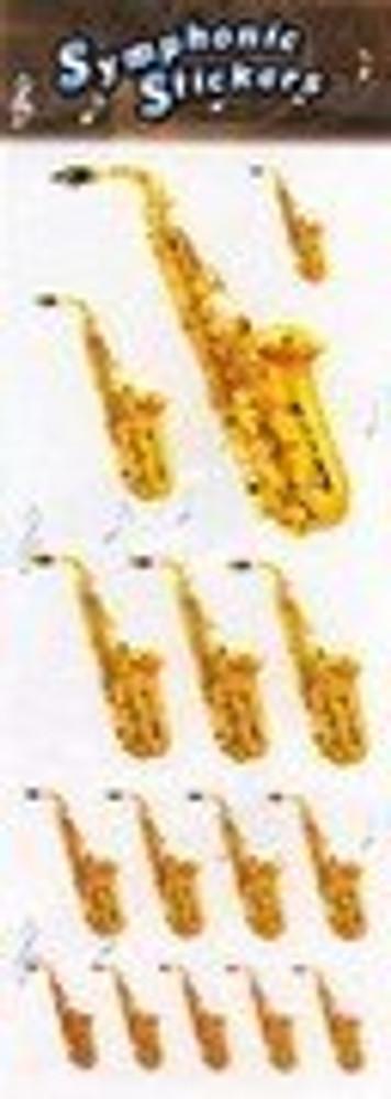 Music Treasures Alto Sax Stickers