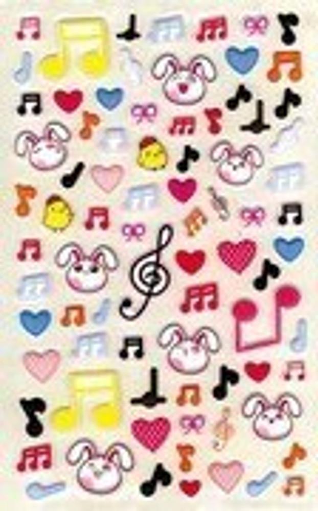 Music Treasures Music Symbol Stickers