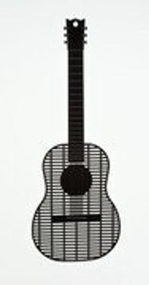 Music Treasures Black Guitar Fly Swatter