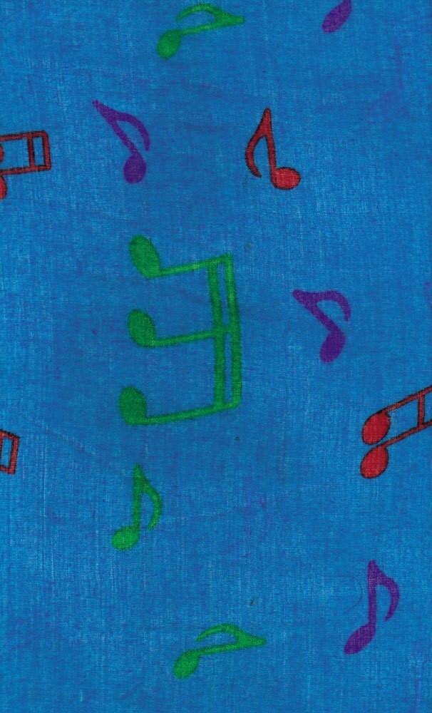 Music Treasures Blue Note Scarves