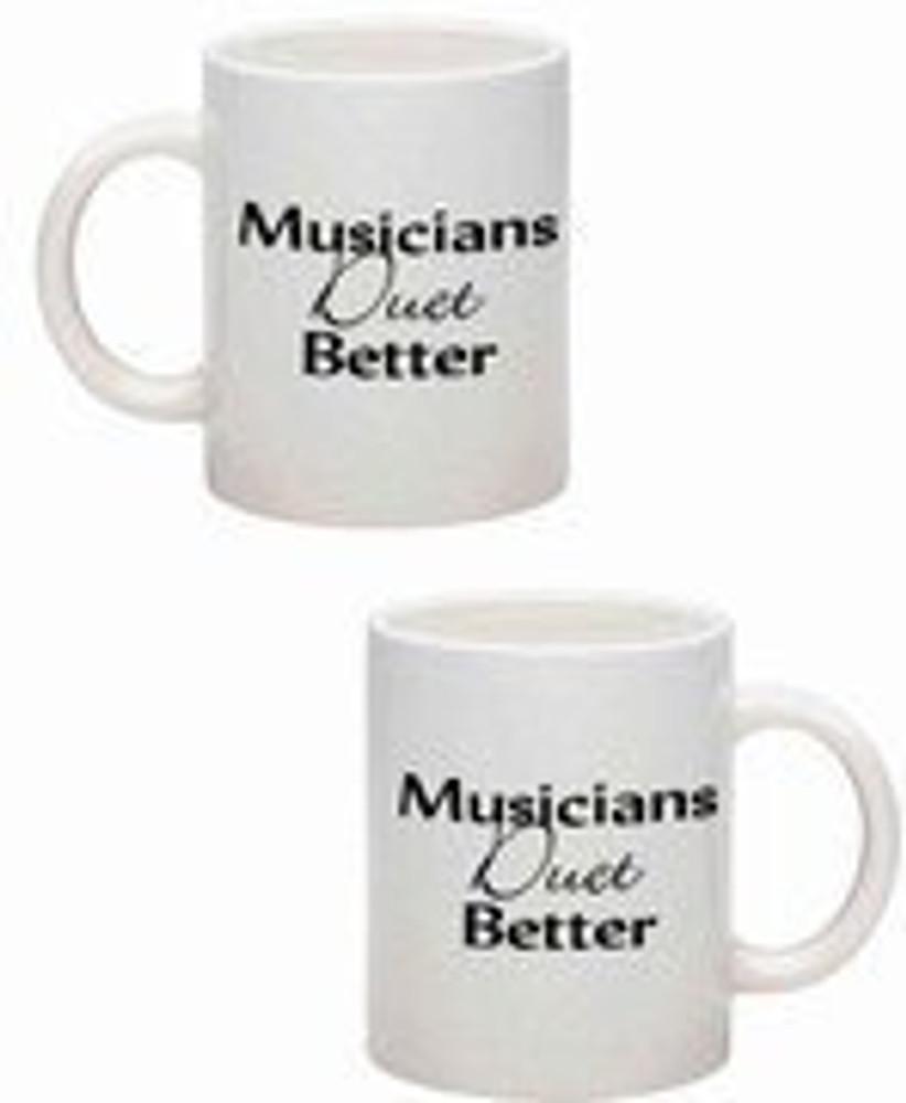 Music Treasures Musicians Duet Better Music Coffee Mug