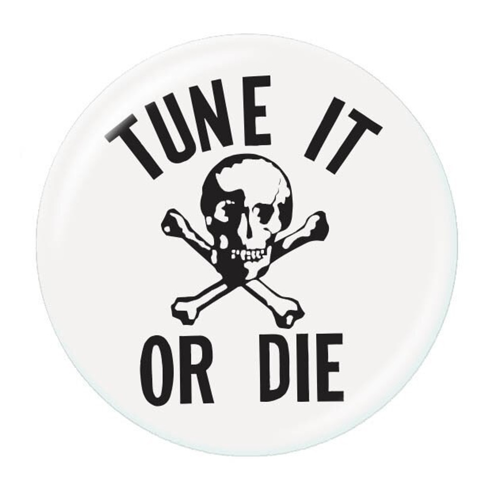 Music Treasures Tune It Or Die Button