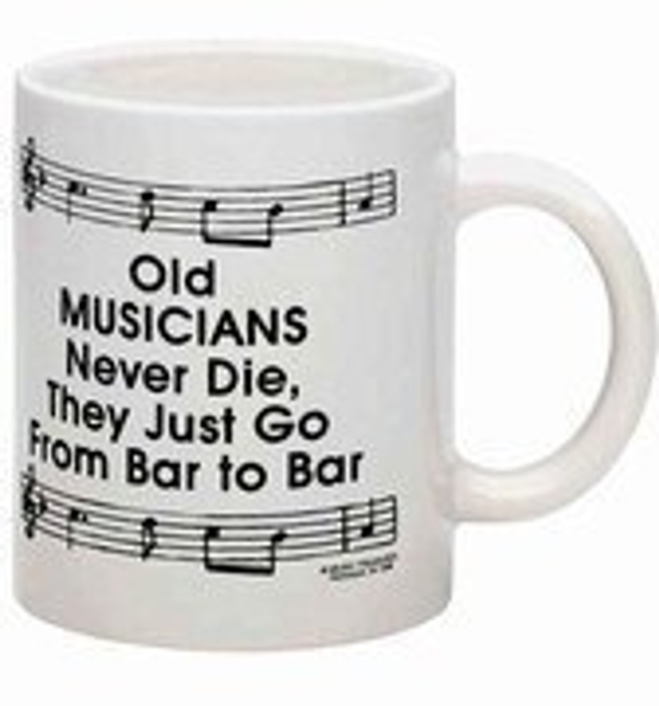 Music Treasures Old Musicians Ceramic Music Coffee Mug