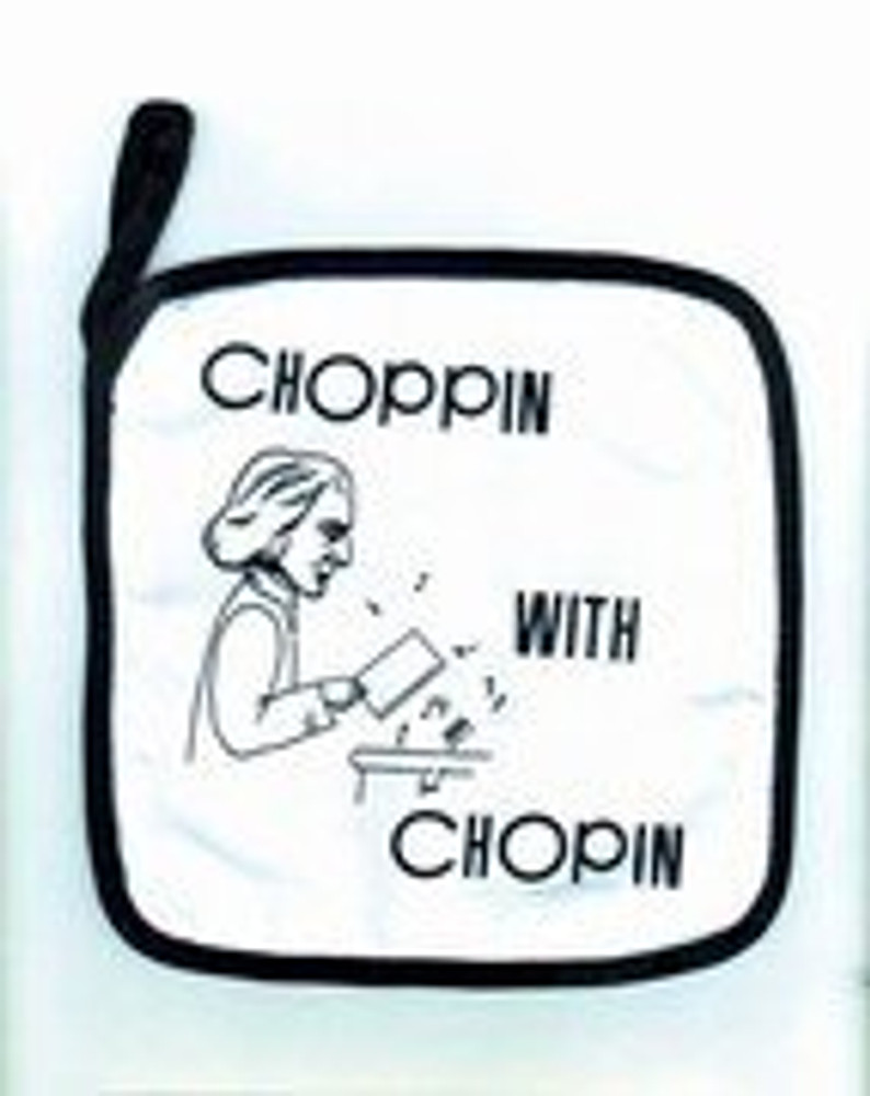 Music Treasures Chopin Pot Holder