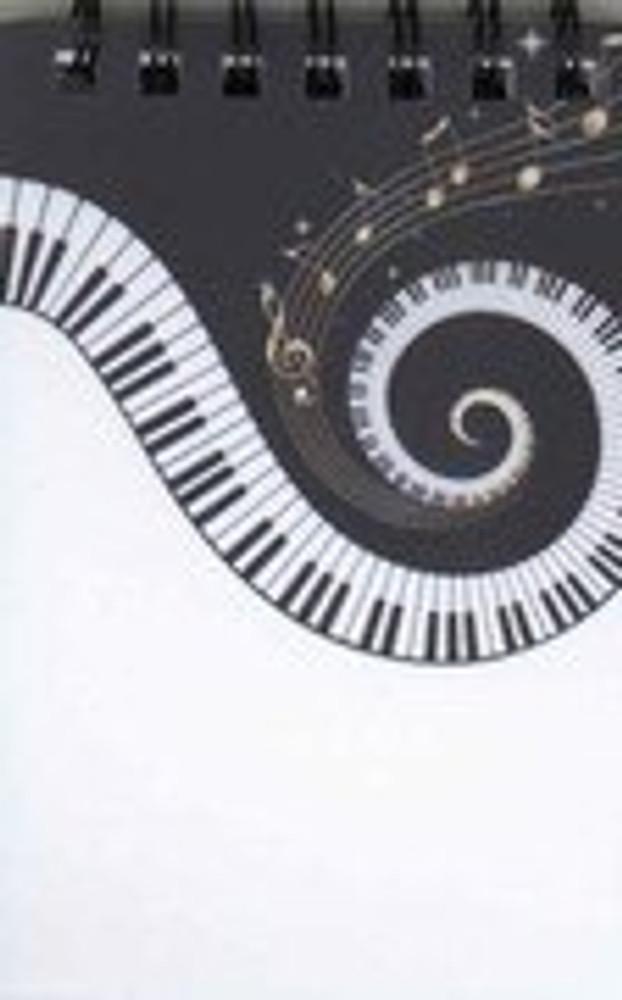 Music Treasures Vortex Keyboard Memo Pad