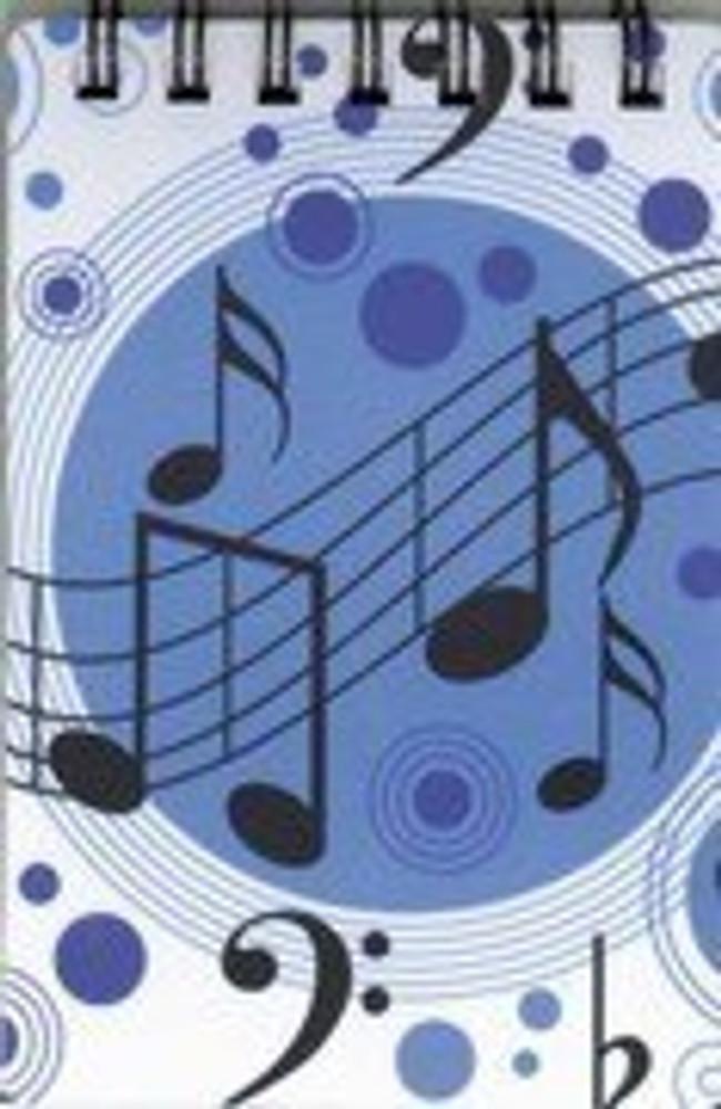 Music Treasures Music Notes Memo Pad