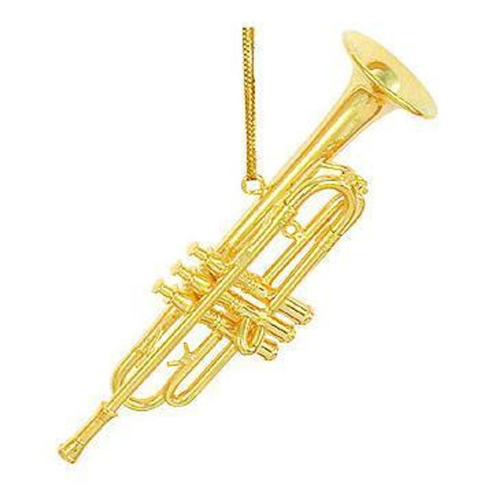 Trumpet Ornament 4.75