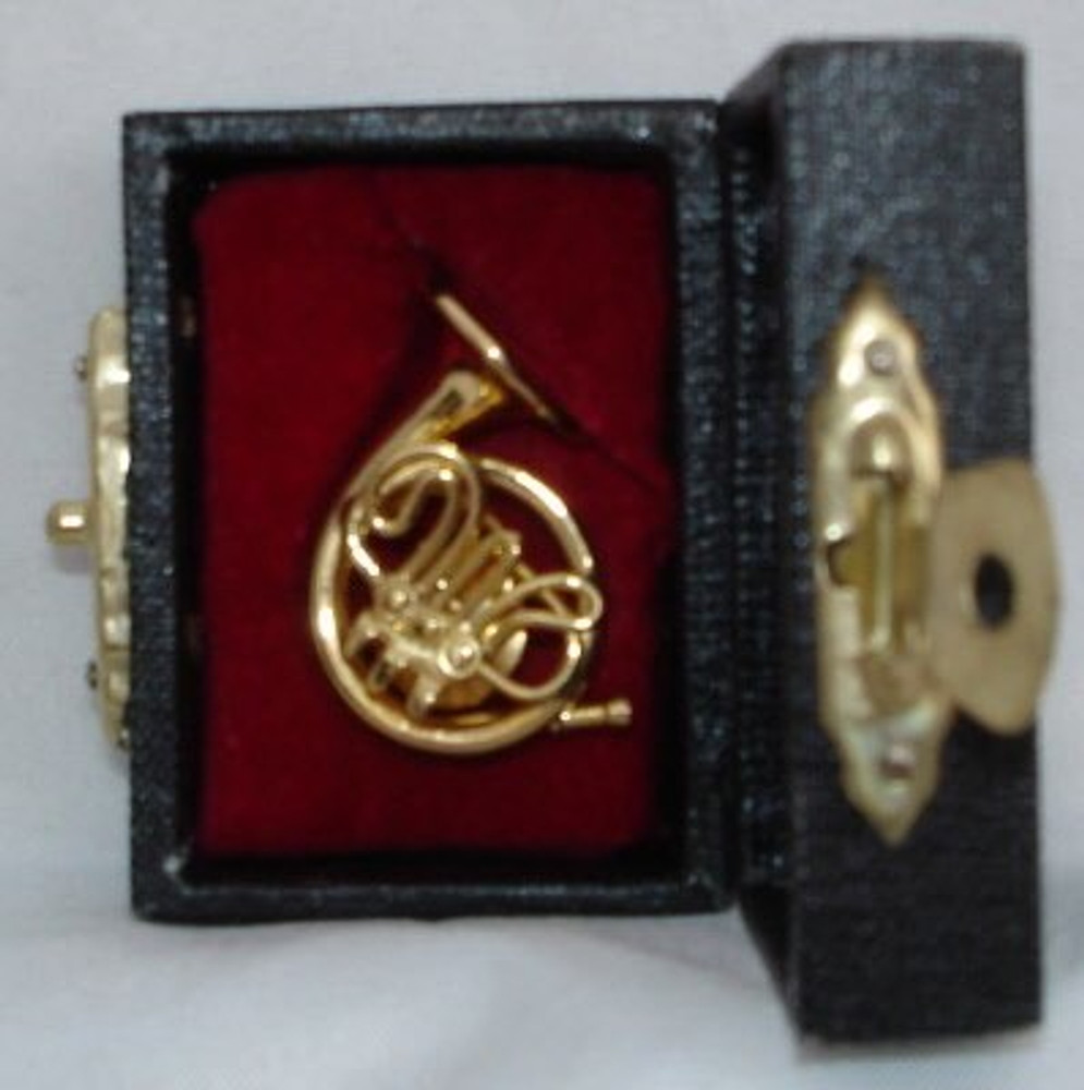 French Horn Pin 1.25
